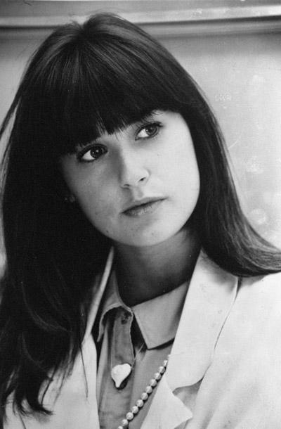 Actress Demi Moore.